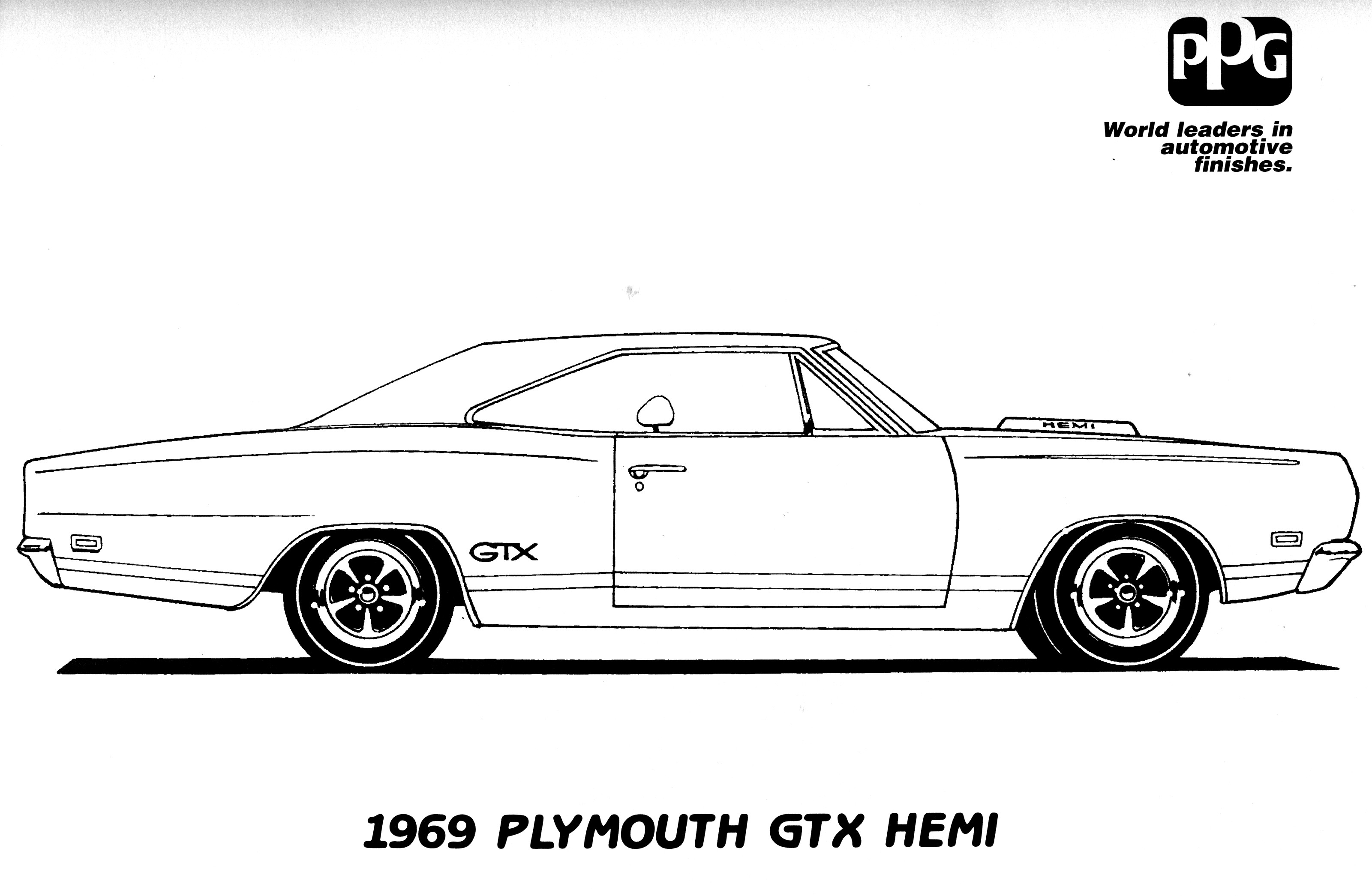Mitsubishi Car Coloring Pages also Dodge Challenger Coloring Pages ...