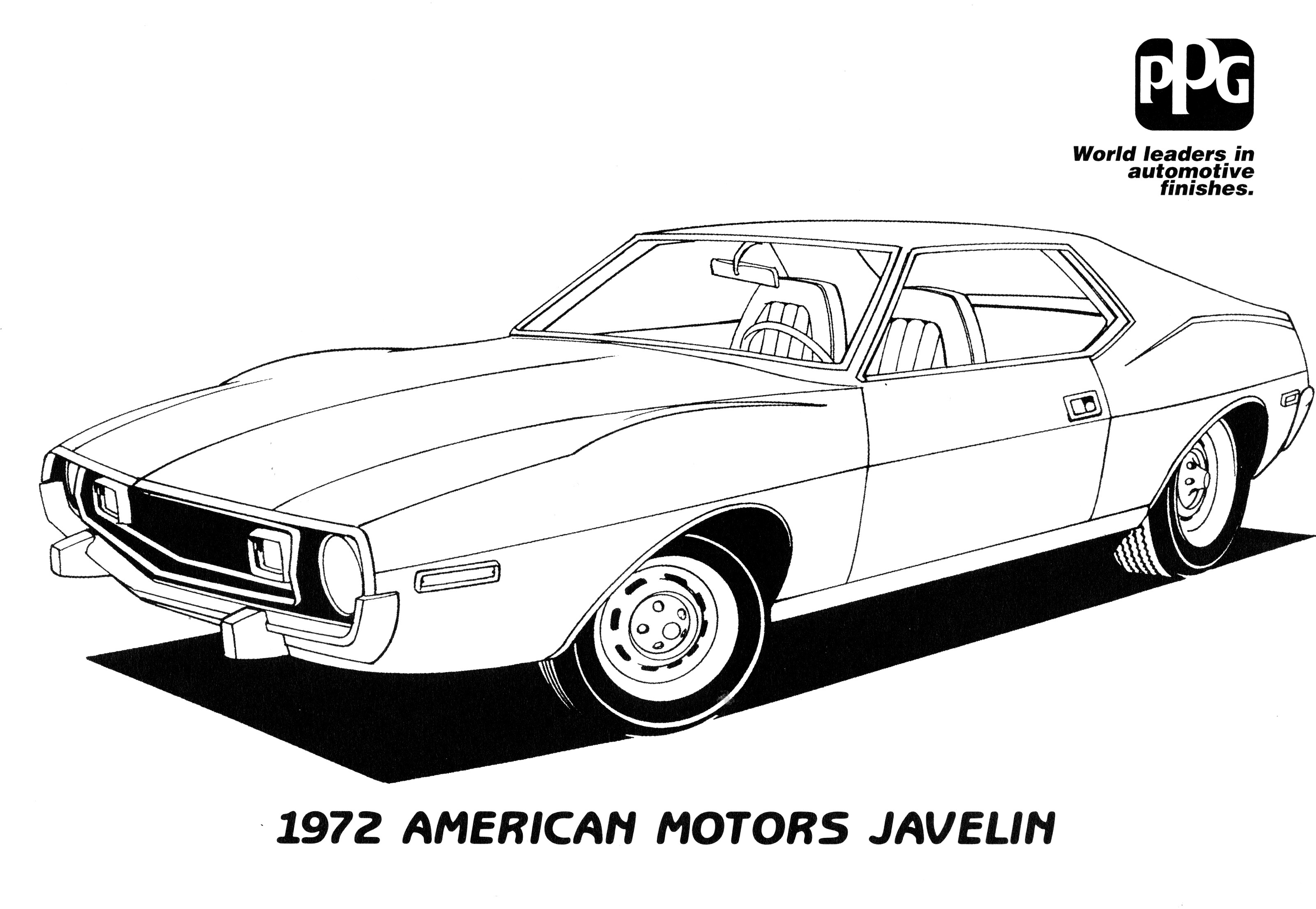 mopar coloring book